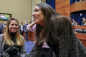US politician Alexandria Ocasio-Cortez and the youth-led Sunrise Movement has captured the public imagination with a plan for a Green New Deal (Picture: J Scott Applewhite/AP)