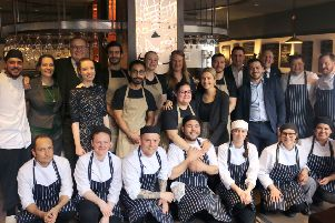 Picture: The team in the new restaurant
