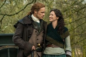 Production of Outlander's fifth season is officially under way. Picture: Starz/Outlander