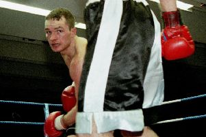 Bradley Welsh in action back in the day