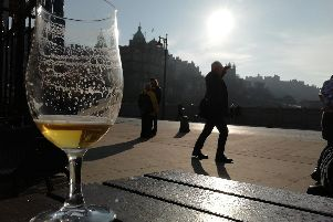 Edinburgh has many beer gardens to choose from