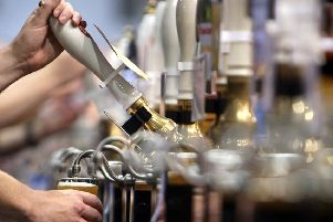 Is a zero-hours contract in a bar a 'positive' destination? Picture: Getty