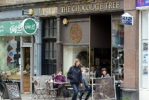 The Chocolate Tree in Bruntsfield. Pic: Neil Hanna