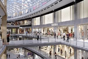 Zara has been announced as one of the stores to be opening at the Edinburgh St James development.