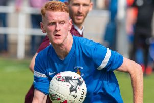Greg Binnie has transformed his career since moving to a striker's role