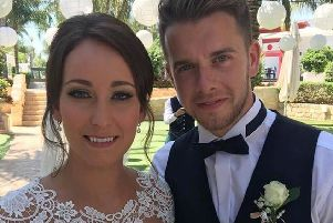 Image of Kirsty Maxwell with husband Adam Maxwell