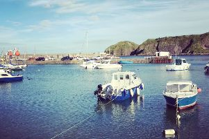 There are few nicer places where you can sit out with a drink on a sunny day in the North East than the Ship Inn, Stonehaven. PIC: Contributed.