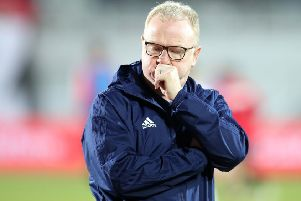 Alex McLeish was sacked as Scotland boss after poor results. Former USA coach Bruce Arena is interested in the job. Picture: Adam Davy/PA Wire