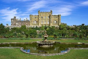 Funds raised at a New York gala will go directly to repair the fountain at Culzean Castle in Ayrshire. PIC: NTS.