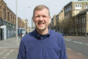 Rob Munn won the recent Leith Walk council by-election
