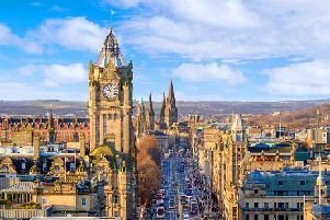 The first bank holiday of May is just around the corner - but will the weather in Edinburgh be cool and grey or sunny and warm?