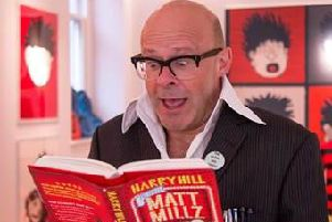 Harry Hill is helping The Beano find the UK's funniest class (Photo: The Beano)