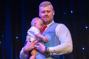 Jamie Kerr, Parent or Guardian of the Year award winner 2018. Picture: Ian Georgeson/TSPL