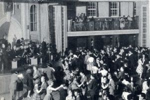 Dancing to the house band at Aberdeen's beach ballroom during the 1960s. PIC: Aberdeen City Council.