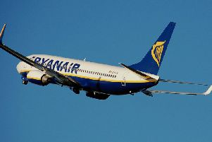 It is the second RyanAir flight of the day to declare an emergency mid-flight.
