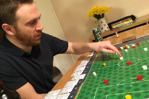 Colin Webster, inventor of new board game 'Counter Attack'