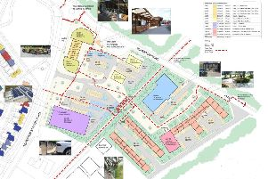 Plans have been unveiled to develop the site.