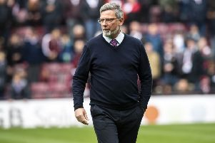 Craig Levein is hopeful of having both Peter Haring and Uche Ikpeazu available for the Scottish Cup final. Picture: SNS Group