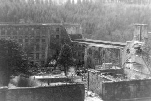"""New Lanark was reduced to a """"ghost town"""" after the last mill closed in 1968. PIC: New Lanark Trust."""