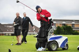 The World Disability Golf Championship was held in Scotland in 2015