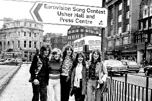 The United Kingdom's entry The New Seekers, who finished second (Photo: TSPL)