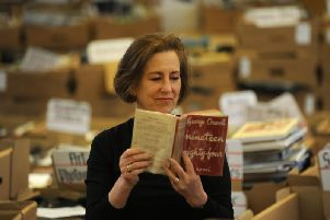 Kirsty Wark reads from George Orwell's Nineteen Eighty-Four. Pic: Provided