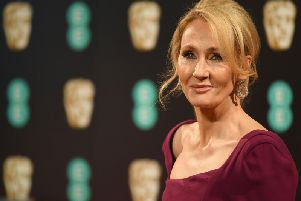 First editions of JK Rowling's first Harry Potter book sell for tens of thousands of pounds at auction. PIC: Getty/AFP/Justin Tellis