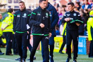 Paul Heckingbottom felt Hibs delivered a typical end-of-season performance.