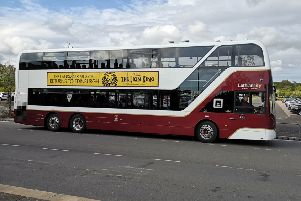 Lothian Buses is concerned the city council's 10-year strategy will hit finances if routes and volumes are reduced. Pic: TSPL