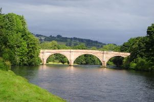 A stretch of walking route by the River Beauly near Lovat Bridge has been diverted, it has been claimed. PIC: www.geograph.org.uk