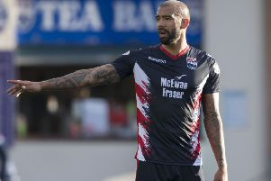 Liam Fontaine has two years remaining on his contract with Ross County