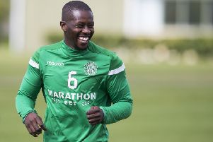 Marvin Bartley looks to be on his way out of Hibs. Picture: SNS Group