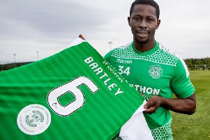Fans have paid their tributes to Marvin Bartley who will leave after his contract expires. Picture: SNS