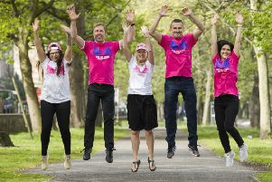 The Edinburgh Letting Service team are ready to spring into action for the MoonWalk