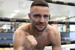 Josh Taylor will be backed by a loyal support
