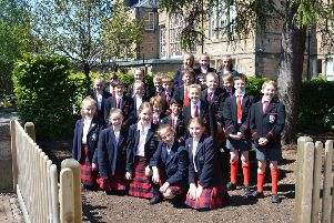 The P6 class from ESMS, the only Scottish school shortlisted in the top ten of the Beano's national joke competition