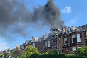 The fire crews are currently at the scene