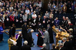 The General Assembly of the Church of Scotland has been held at the Mound in Edinburgh almost every year since 1560. Throughout the week-long event, the assembly examines its work and laws and makes decisions that affect the future of the Church. Picture: Jeff J Mitchell/Getty Images