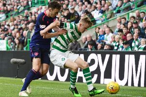 Andy Irving impressed in midfield for Hearts. Pic: SNS