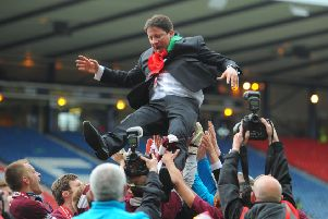 Paulo Sergio led Hearts to Scottish Cup glory in 2012