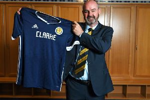 Steve Clarke is unveiled as the new Scotland manager