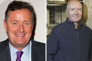Irvine Welsh has entered a twitter spat with Piers Morgan. Pic: JPI/ Shutterstock-Kathy Hutchins