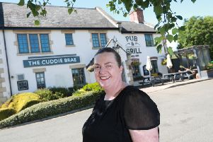 General manager, Elaine Russell at the newly refurbished Cuddie Brae.