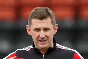 Bonnyrigg Roase manager Robbie Horn believes one of the East Kilbride players deserved a second yaellow card