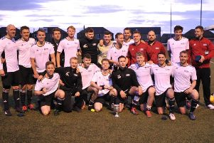 Tollcross Thistle show off the Logan Cup