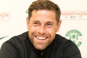 Grant Holt joined Hibs in the summer of 2016 - his sixteenth club