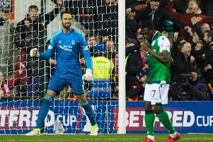 Hibs were knocked out by Aberdeen at the quarter-final stage last year.