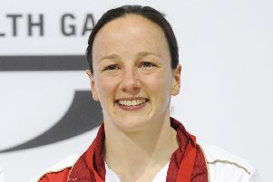 Rebecca Gallantree is now the assistant coach at Edinburgh Diving Club