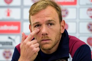 Malaury Martin has not played for Hearts since Craig Levein became manager.