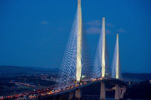 Transport Scotland has now revealed the builders will not be completely clear of the Queensferry Crossing until December. Picture: Ian Georgeson